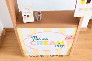 "Image of Kit carteles ""Ice Cream Shop"""