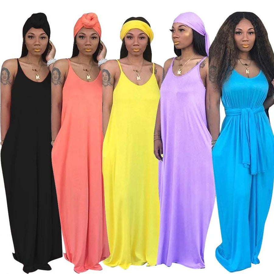 Image of Summer Time Fine Maxi Dress