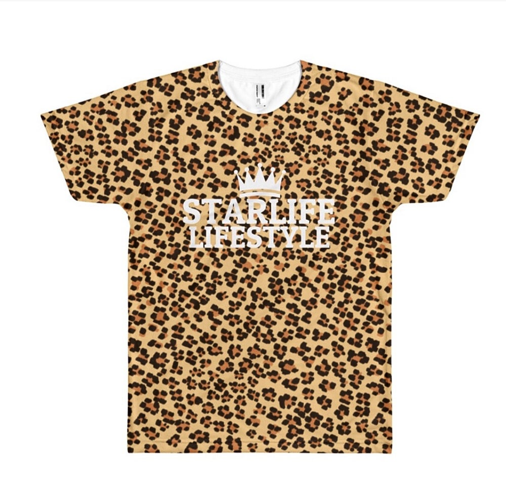 Image of Cheetah Print T-Shirt