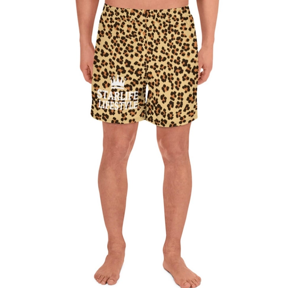 Image of Starlife Cheetah Print Shorts