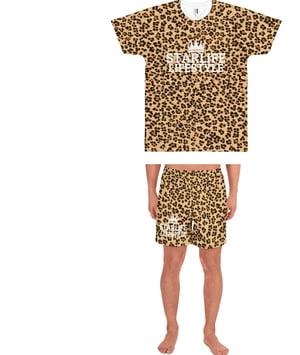 Image of Starlife Cheetah Print Shorts