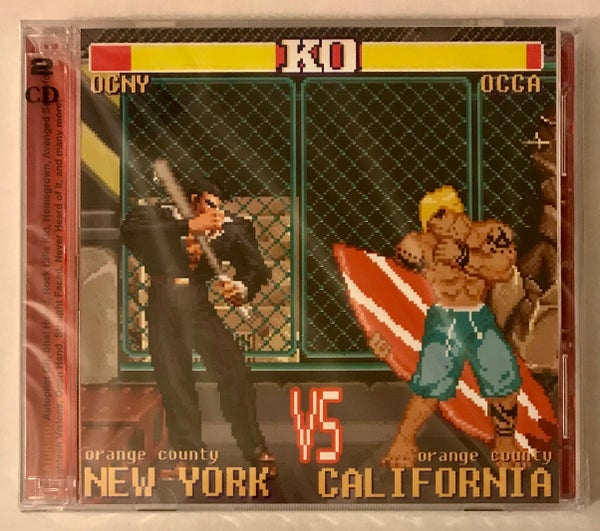 Image of Orange County New York VS. Orange County California / Various Artists / 2 CDs