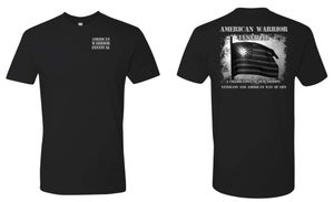 Image of American Warrior Festival T Shirts (Black)