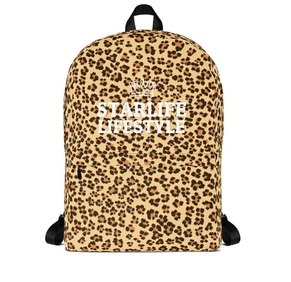 Image of Starlife Cheetah Print Backpack