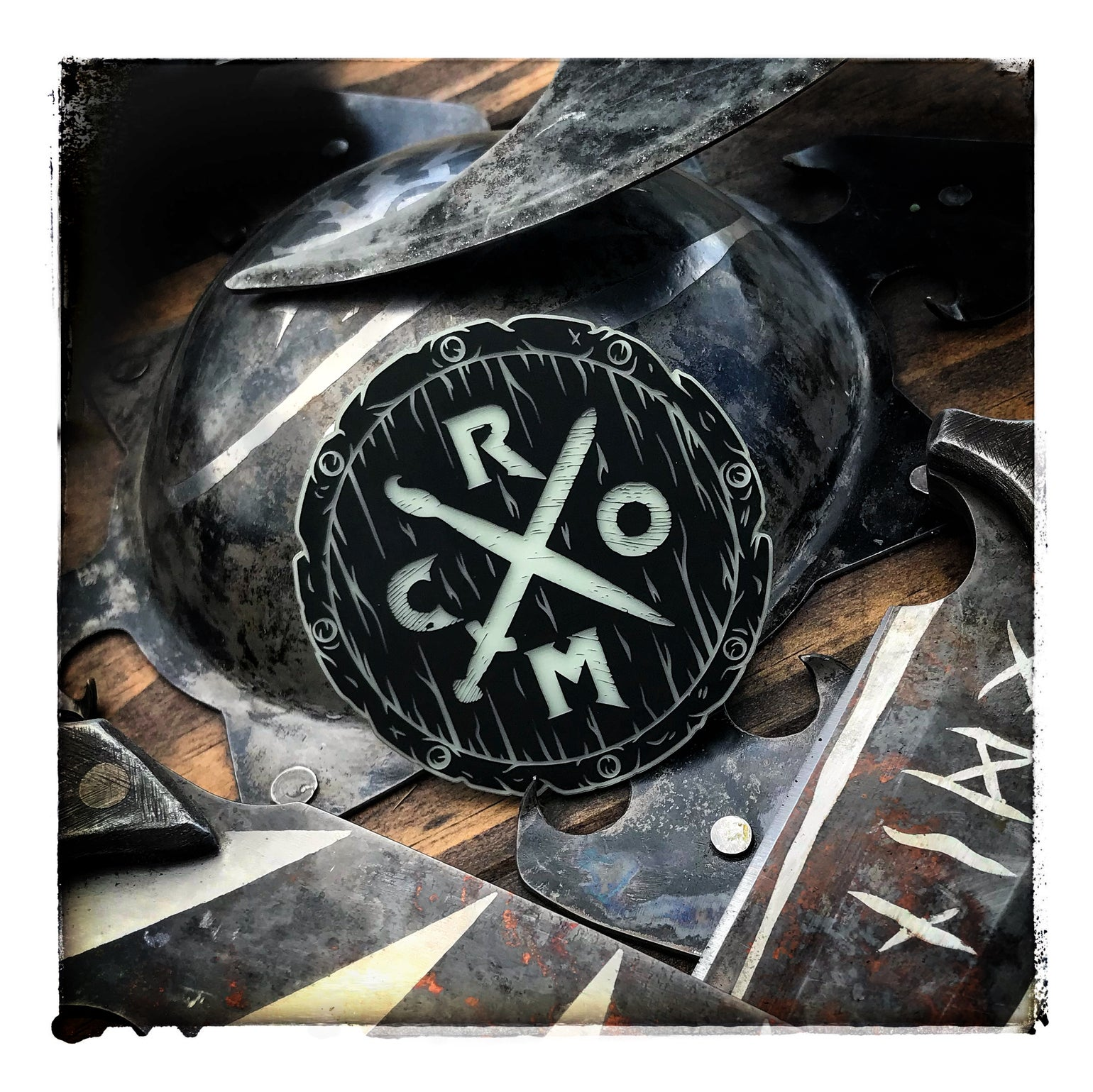 Image of Shield of CRØM glow patch