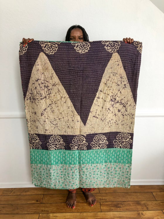 Image of •Afi• vintage kantha quilts: various patterns