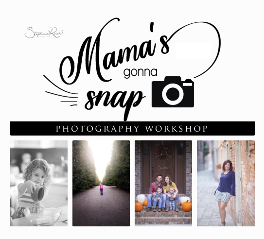 Image of Mama's Gonna Snap Workshop: Saturday, 9-14-19