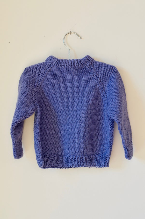 Image of Knitted Jersey - Lavender