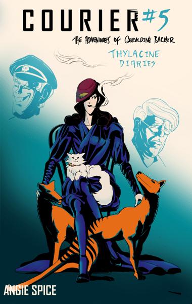 "Image of Courier The Adventures Of Geraldine Barker #5 ""Thylacine Diaries"""