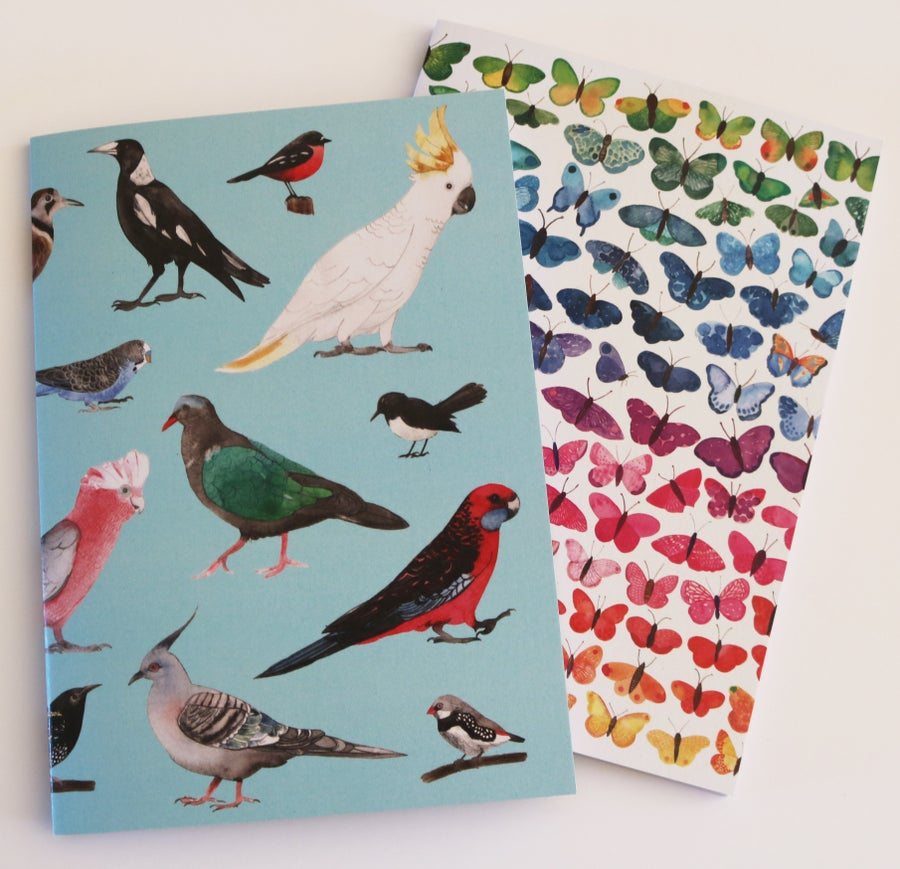 Image of A5 Blank Note Book - Set of Two