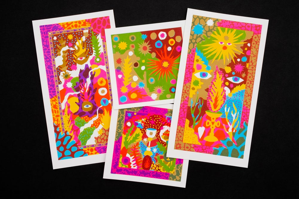 Image of A New Dawn card set - Various sizes