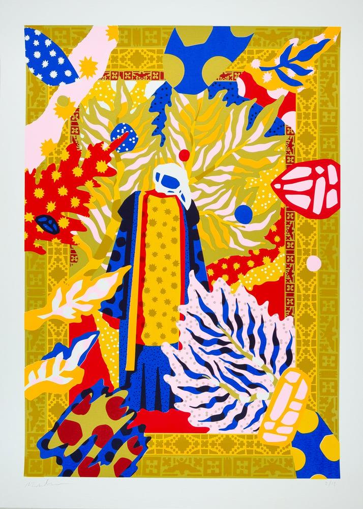 Image of Yoruba left - 70 x 50 cm