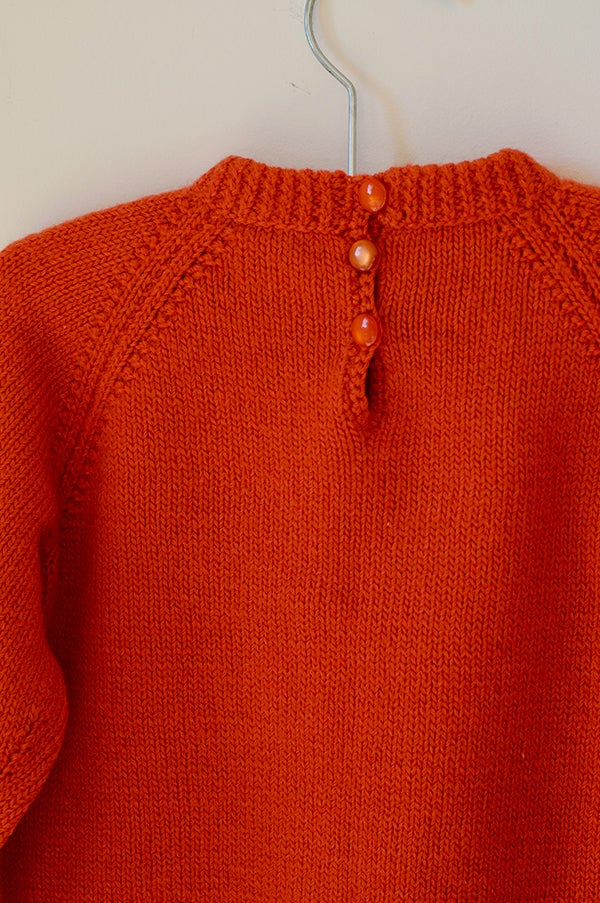 Image of Knitted Jersey - Mandarin
