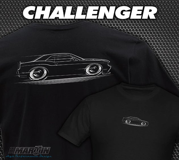 Image of Challenger T-Shirts, Hoodies, Banners