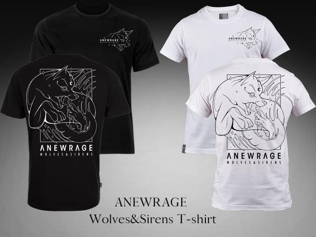 Image of Wolves & Sirens (Black/White)