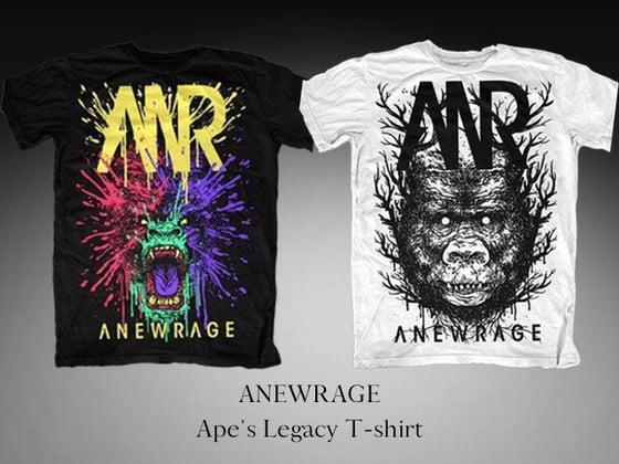 Image of Ape's Legacy T-shirt (Black/White)