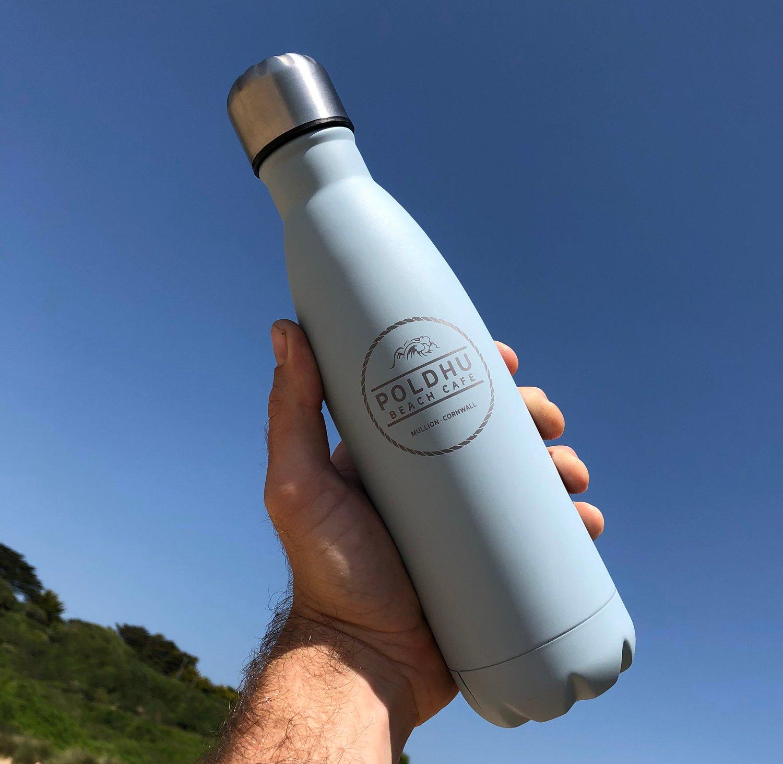 Image of Vacuum Drinks Bottle Pastel Blue