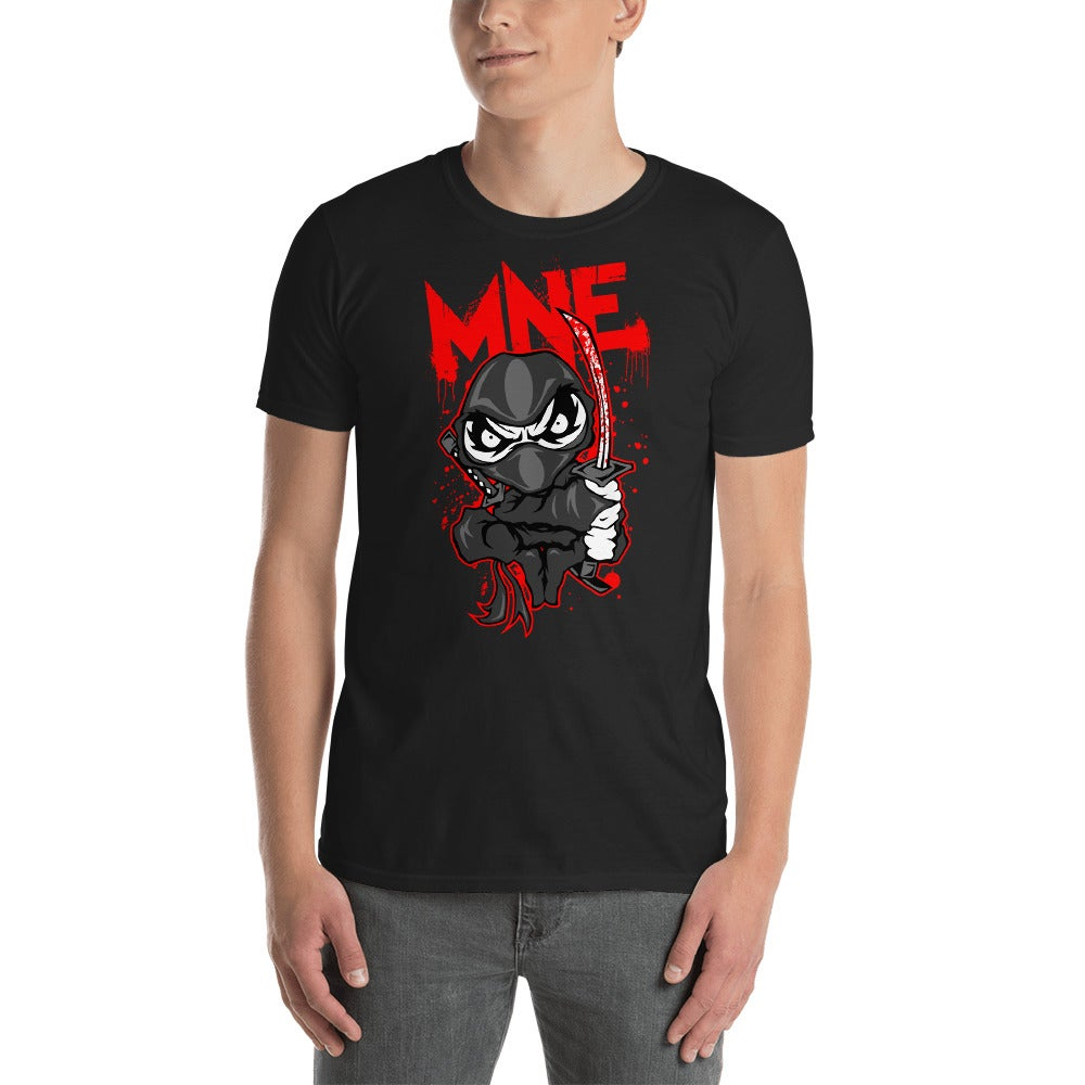 Image of MNE Cartoon Ninja Shirt Black
