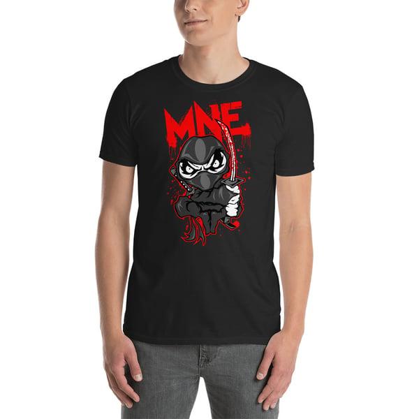 Image of MNE Cartoon Ninja Shirt Black