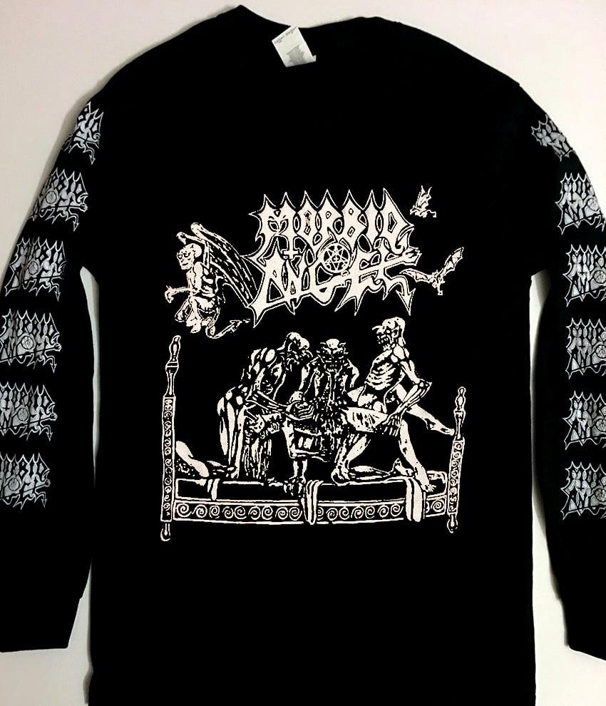 "Image of Morbid Angel "" Abominations of Desolation ""  Long Sleeve T shirt"