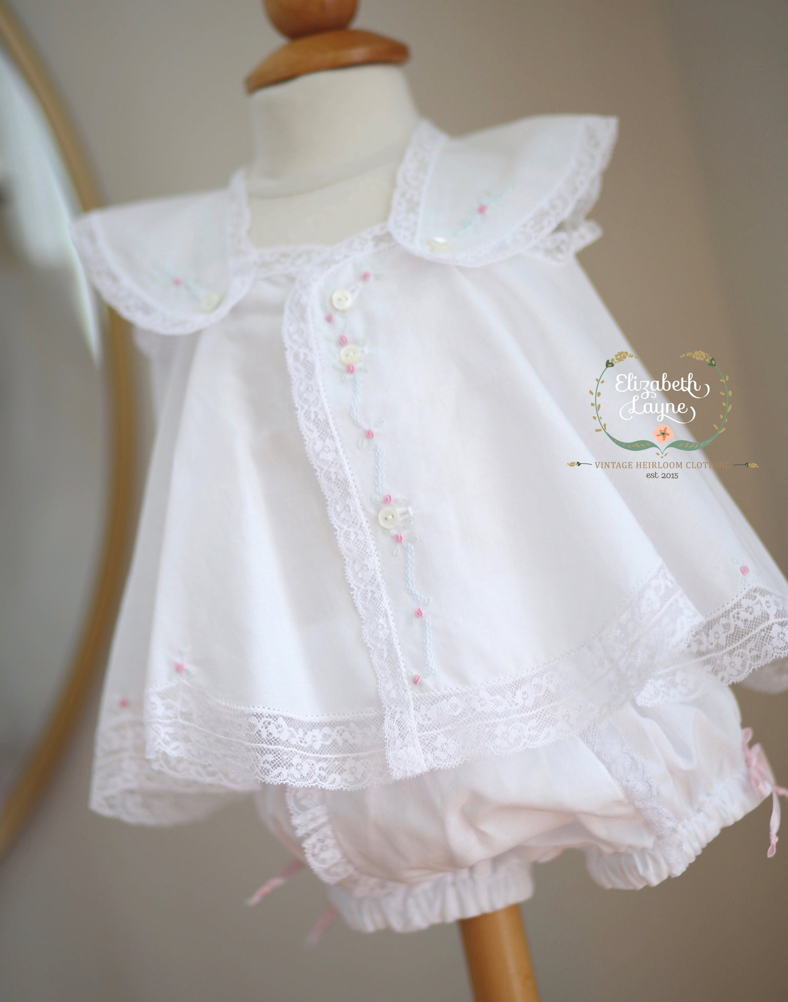 Image of Heirloom Batiste Layette Set