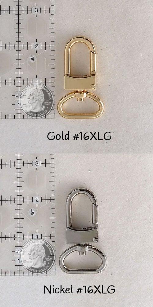"Image of Adjustable Crossbody Bag Strap - Choose Leather Color - 55"" Maximum Length, 1"" Wide, #16XLG Hooks"