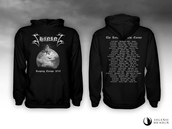 "Image of SHINING ""Reaping Europe"" HOODIE"