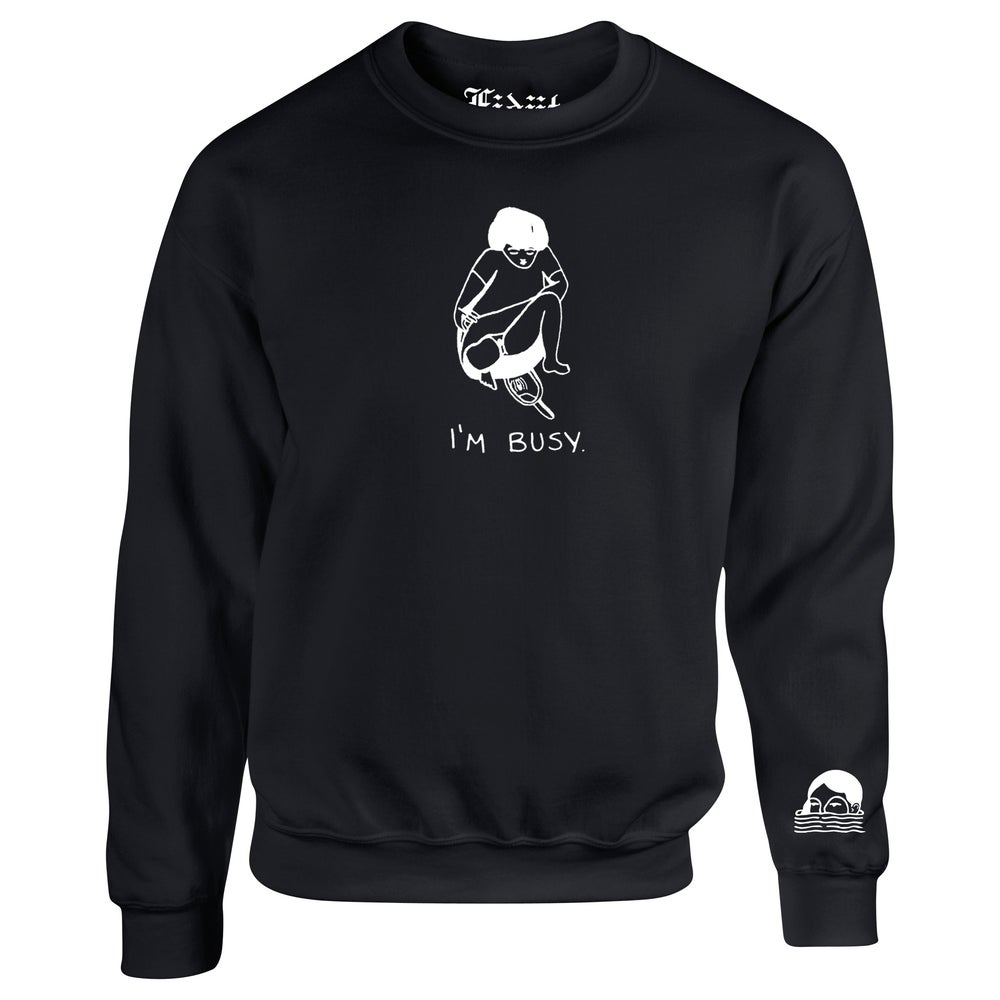 Image of I'M BUSY LONGSLEEVE TEE