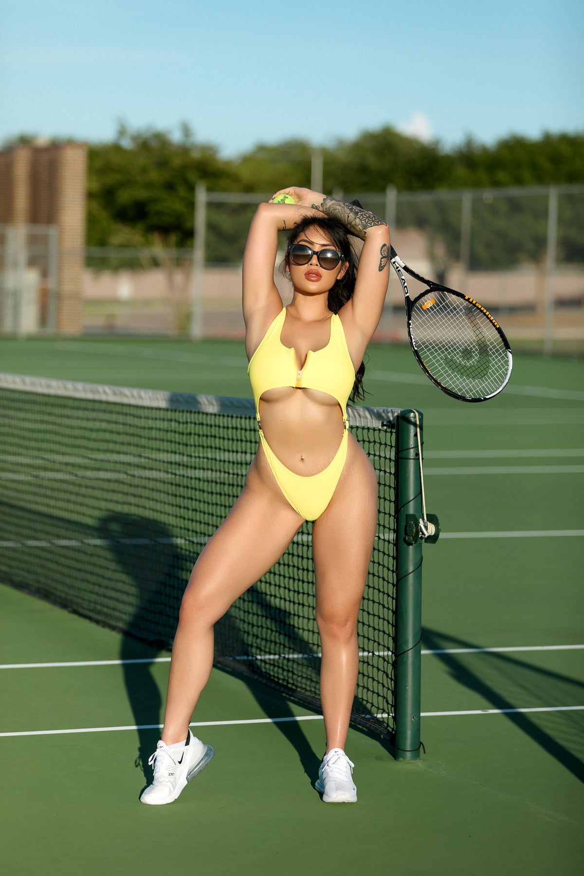 Image of Marie Bodysuit Yellow
