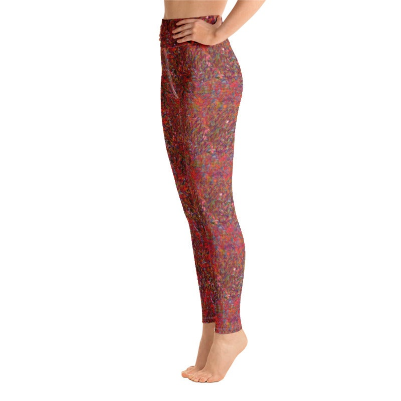 Image of Party Sequin Yoga Pants