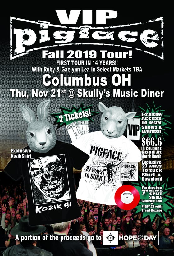 Image of VIP Thu, Nov 21 – Columbus OH @ Skully's Music Diner