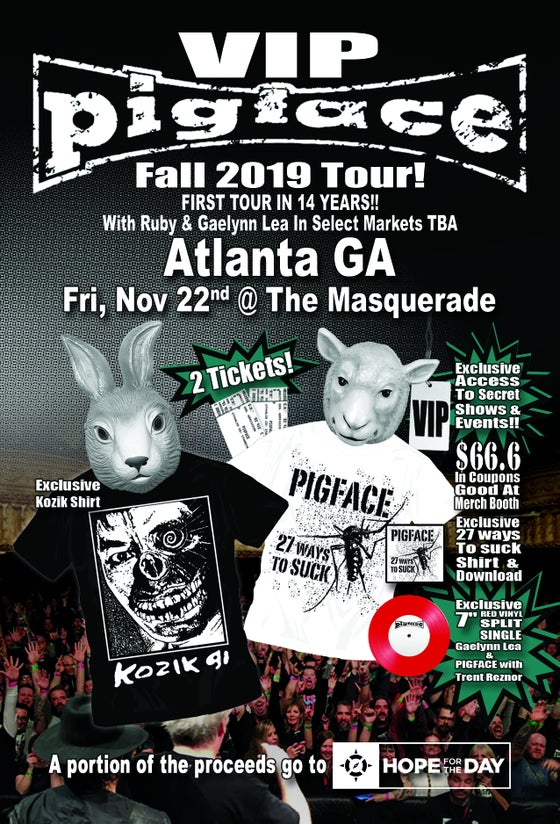 Image of VIP Fri, Nov 22 – Atlanta GA @ The Masquerade