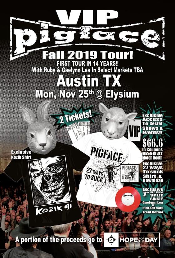 Image of VIP Mon, Nov 25 – Austin TX @Elysium