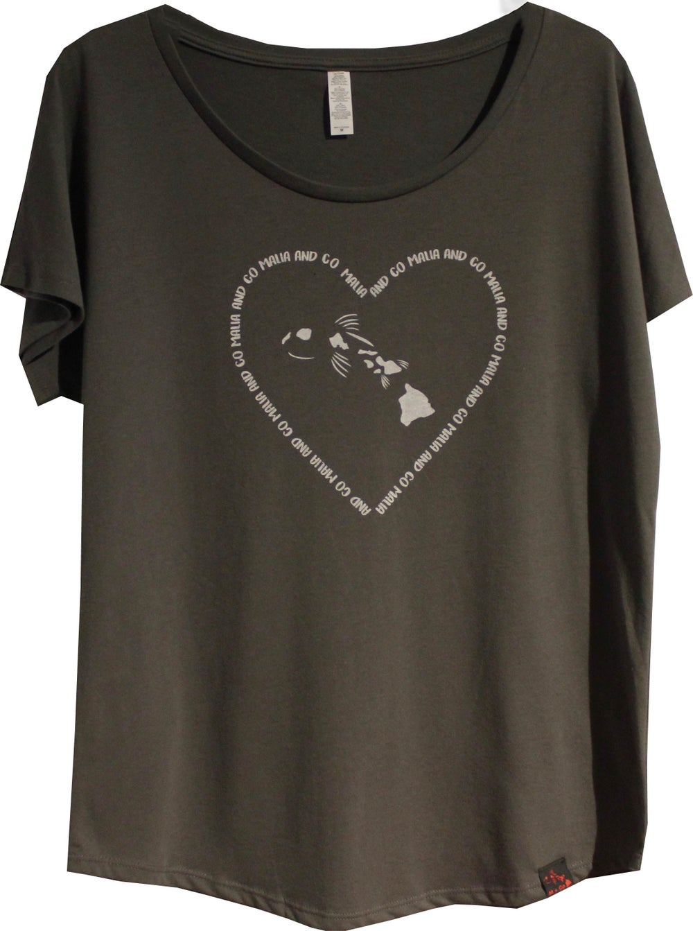 Image of Women's Heart Logo Collection -  Dark Grey