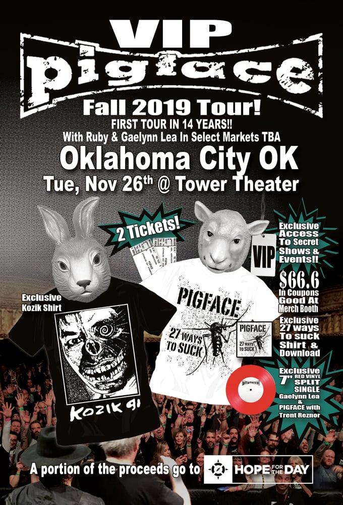 Image of VIP Tue, Nov 26 – Oklahoma City OK @ Tower Theater