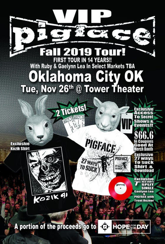 Image of VIP Tue, Nov 26 – Oklahoma City OK @ Tower Theater