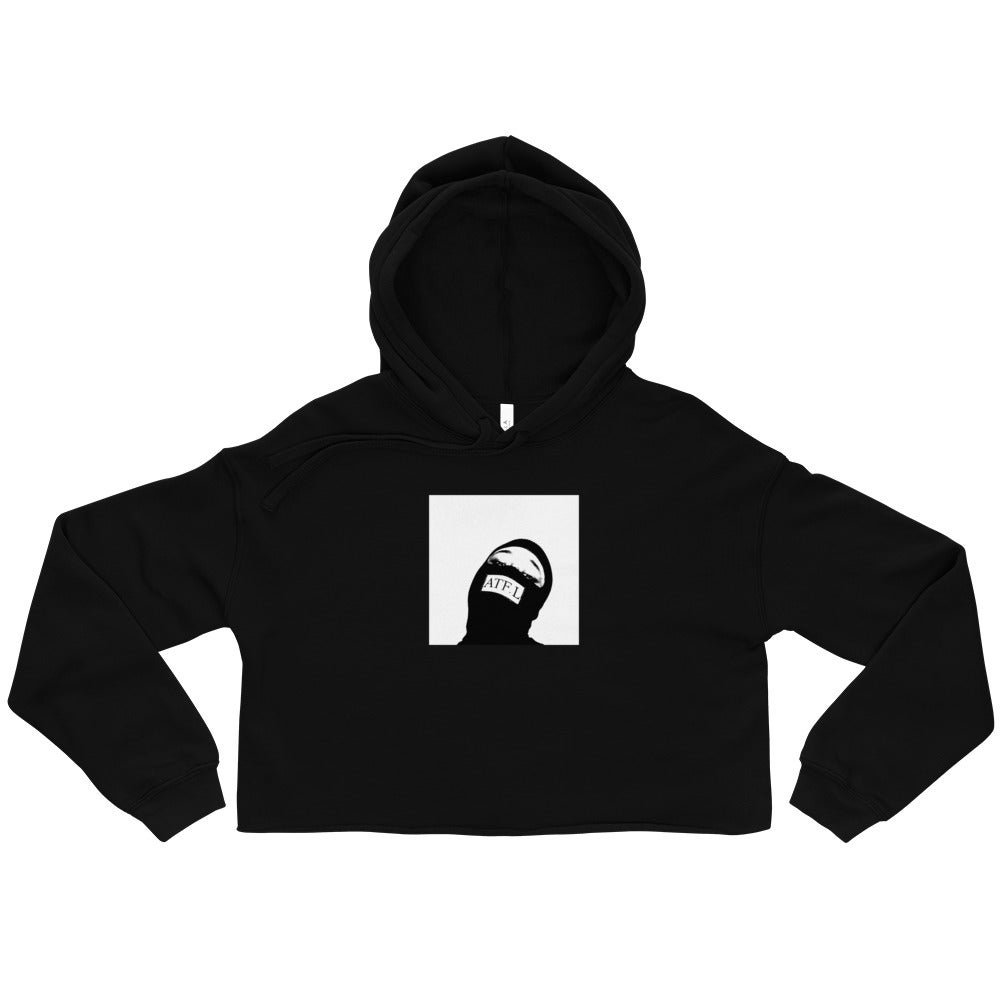 """Image of ATF.L """"By Any Means Necessary"""" Women's Crop Hoody"""