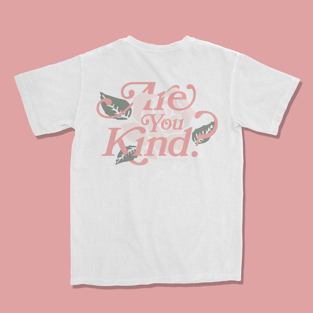 Image of Are You Kind Floral - White
