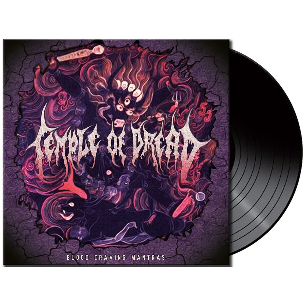 Image of Temple of Dread • Blood Craving Mantras (Black Vinyl)
