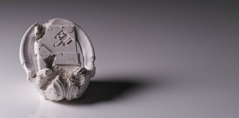 Image of FUTURE RELIC 07: Cassette Player by Daniel Arsham