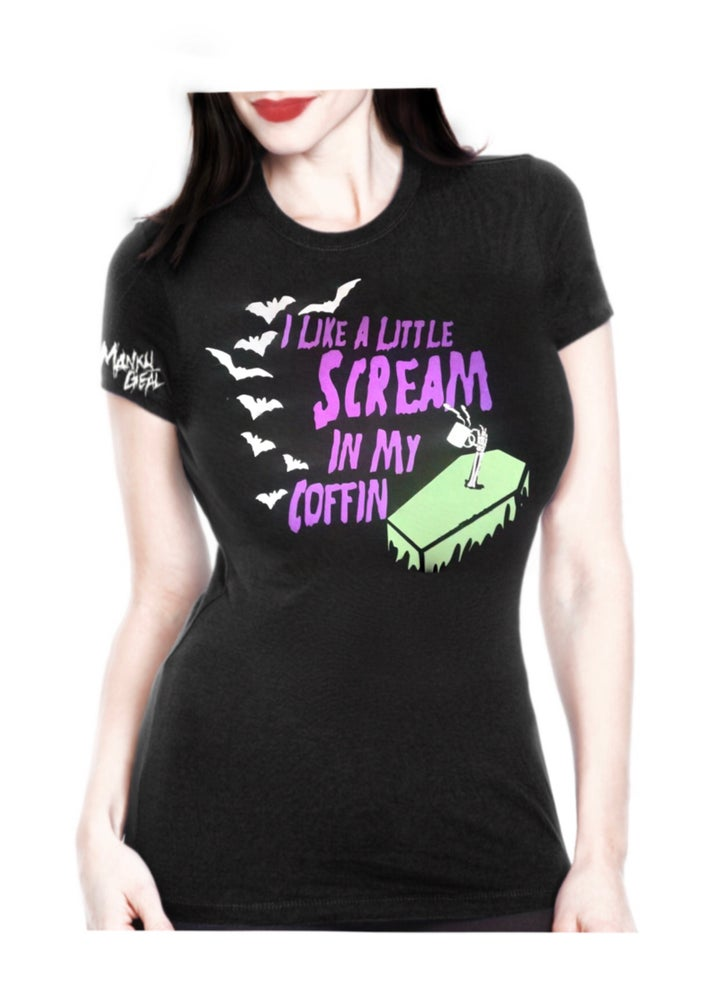Image of Scream In My Coffin Women's Tee