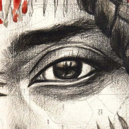 "Image of Paper Art Print - ""Maryama"""