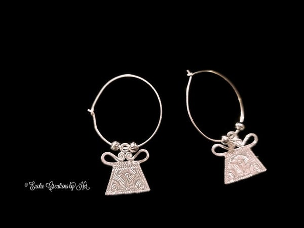 Image of Hmong Hoop Earrings