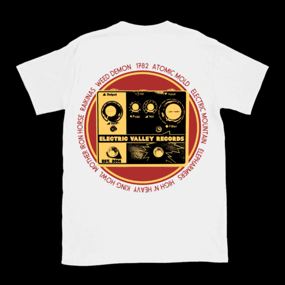 Image of Electric Valley Records - Fuzz T-Shirt