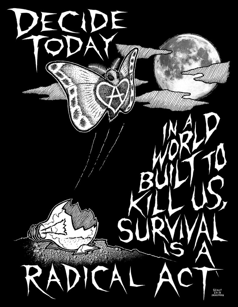 """Image of Decide Today """"Survival"""" shirt"""