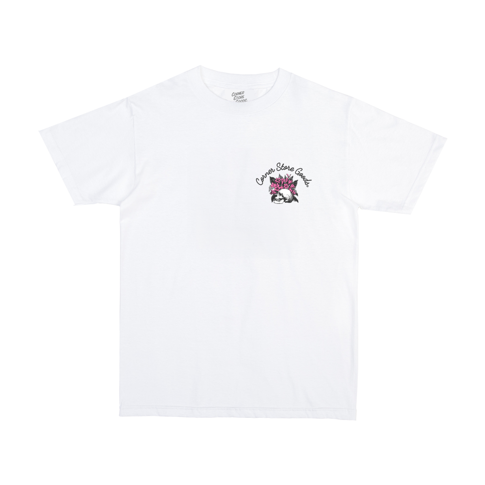 Image of White Give Flowers Tee