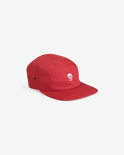 Image of Mixed Media Five Panel · Red