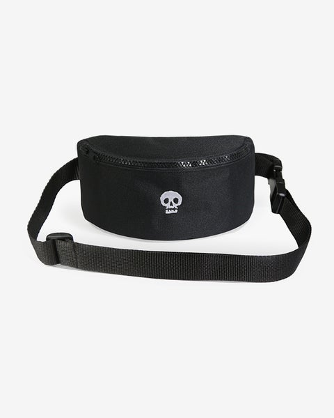 Image of Mixed Media Hip Bag · Black