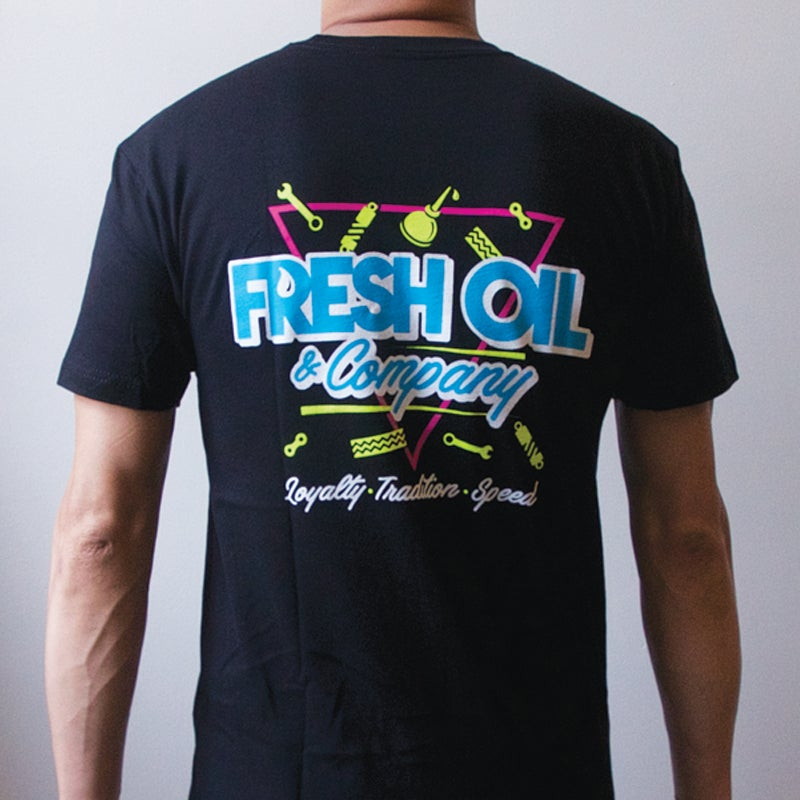 Image of 80'S TEE - BLACK