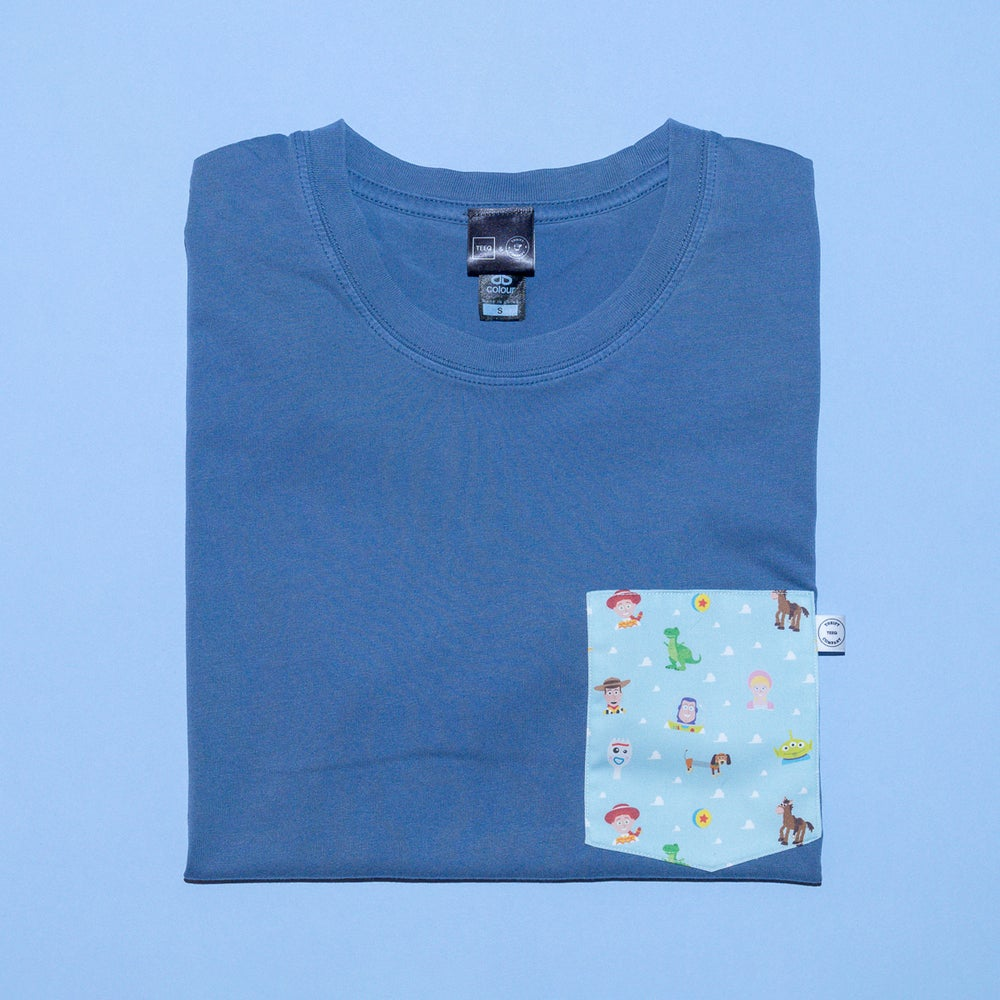 Image of The Toy Box Collaboration Crew Neck T-Shirt